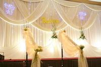 Кольцо водопад Свадебный фонов, свадебные этапе простыня цвет может быть специально, Свадебный декор