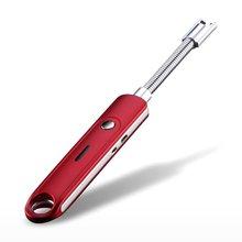 USB импульсный шланг электрическая зажигалка перезаряжаемая беспламенная Lgnition пушка ветрозащитная беспламенная для приготовления пищи кемпинга