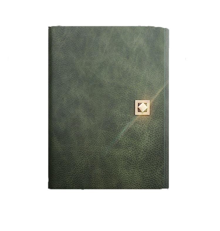 bloco de notas de negocios loop a5 escritorio papel couro superior grau ferramenta bloco de notas