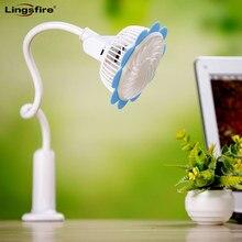 Rechargeable Portable Clip Fan Desktop USB Fan Mini Baby Stroller Fan with Flexible Neck Adjustable Speed for Home, Office