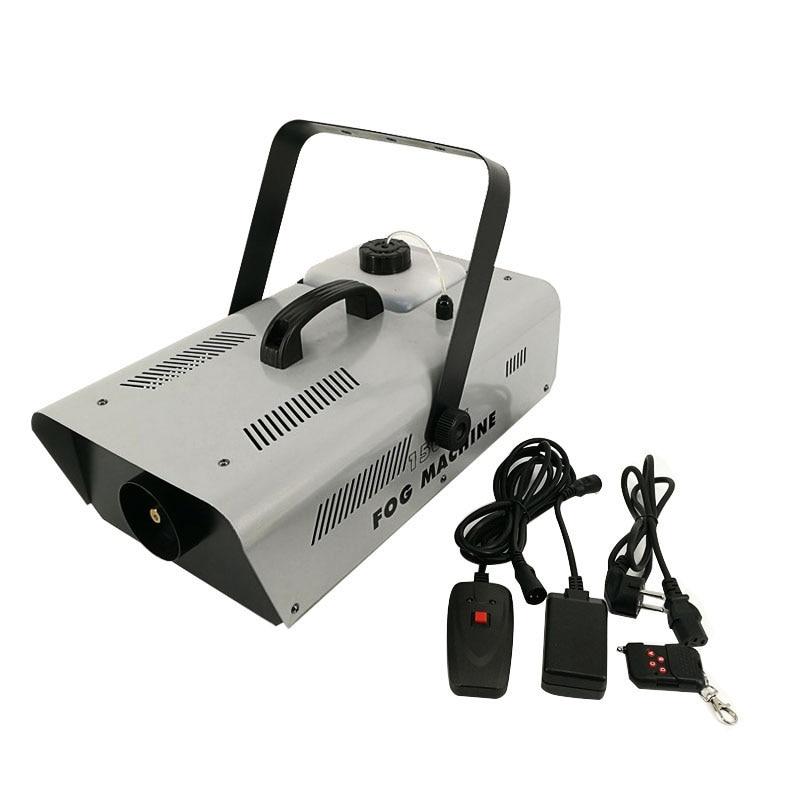 1500W smoke machine,with DMX 512 Remote(Wire Control)or without DMX 512 smoke machine stage fog machine Fast Shipping