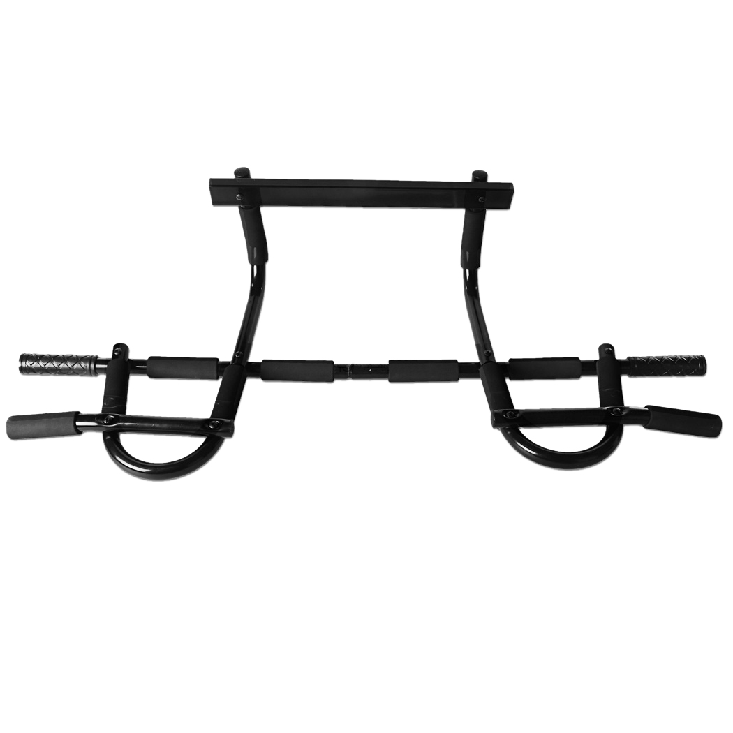 Chin Pull Up Bar Mounted Doorway Build Muscles Fitness Workout Home/Gym albreda upper body workout crossfit training wall horizontal bar interior fitness equipment horizontal bar chin up pull up bar
