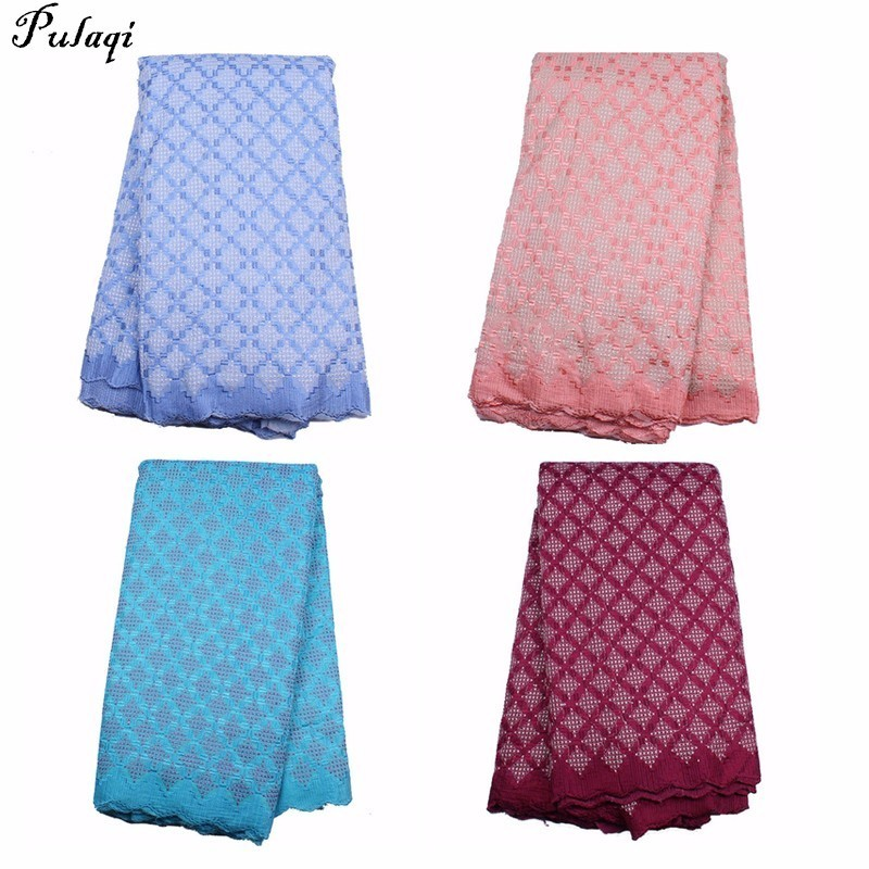 Pualqi Latest African Lace Fabrics Embroidered African Guipure French Lace Fabric 2018 African French Net Lace Fabric for Sew DPualqi Latest African Lace Fabrics Embroidered African Guipure French Lace Fabric 2018 African French Net Lace Fabric for Sew D