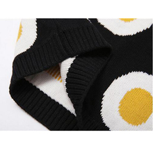 Autumn Winter Sweater Baby Girl Clothes Child Cotton Pullover Sweater Children Casual Baby Omelette Sweater Kids Choses Egg