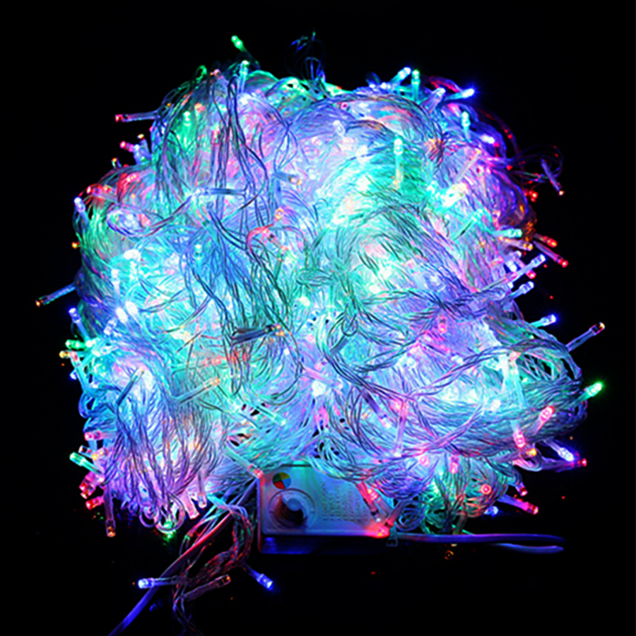 BEIAIDI 100M 800 LED Christmas String Light Wedding Party Fairy Light Garland Outdoor Xmas Tree New Year Holiday String Garland high quantiy 28 ball led 5m string light for christmas xmas holiday wedding party decoration fashion holiday light 8 mode work