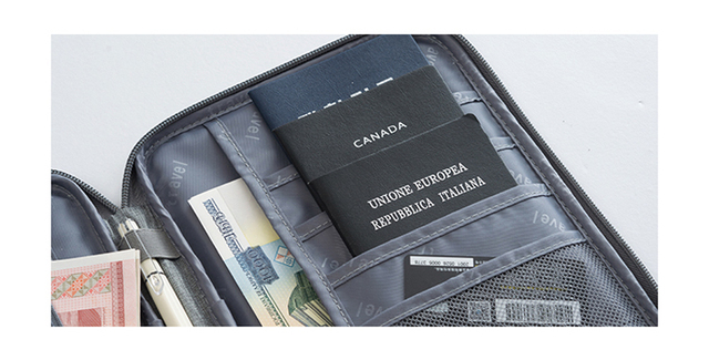 Hot travel wallet family passport