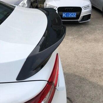 Dành cho Xe Toyota Camry Spoiler ABS Chất lượng cao Chất Liệu Xe Phía Sau Cánh Đồi Mồi Màu Nẹp Chống Trầy Cốp Sau Dành Cho Xe Toyota Camry Xẻ Tà 2018 +