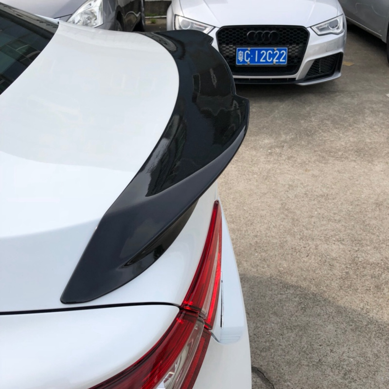 For Toyota Camry Spoiler High Quality ABS Material Car Rear Wing Primer Color Rear Spoiler For Toyota Camry Spoiler 2018+ for toyota camry spoiler 2018 high quality abs material car rear wing primer color rear spoiler for toyota camry spoiler