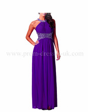 free shipping 2013 SEXY LADIES PURPLE CUT OUT BACKLESS MAXI PARTY PROM EVENING CRUISE JEWEL DRESS