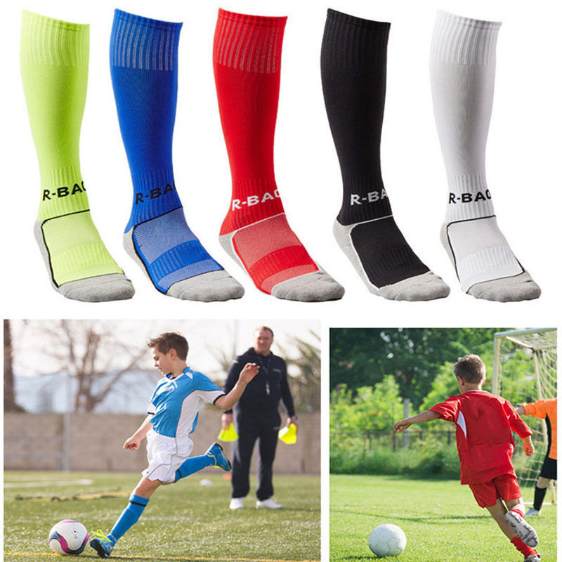 Children Football Socks Soccer Hockey Rugby Socks PE Compression Hockey Rugby