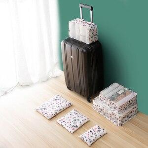 Аксессуары для путешествий, 6 шт./компл., сумка для женщин, для путешествий