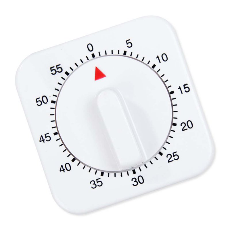 Mechanical Timer 60-Minute Reminder Counting Count Down Effectived Novelty Alarm Clock for Kitchen