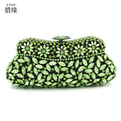XI YUAN BRAND women luxury fashion women party wedding day clutches shoulder bag female handbag evening bags for bride purse