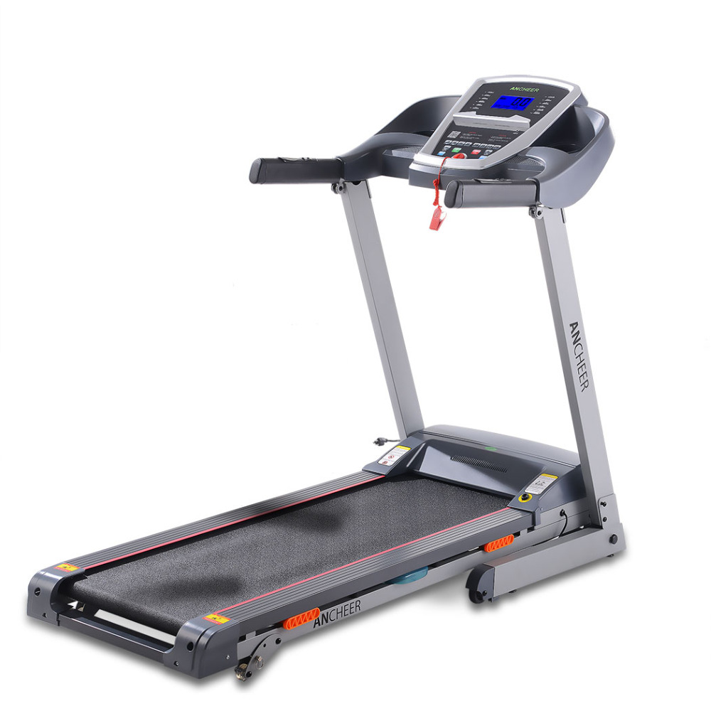 ANCHEER 3.0HP DC1.0-14 km/h Foldable Electric Treadmill Exercise Equipment Machine Home Gym Hot sale Fat Reduction Fittiness ancheer new folding electric treadmill exercise equipment walking running machine gym home fitness treadmill
