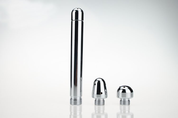 2016 New Stainless Steel Anal Dilator Expand Anal Vagina Enema Adult Man Woman Masturbation Toy Erotic Product New Fashion1