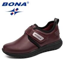 Children Shoes Sneakers BONA Boys Outdoor Loop Fast Hook Comfortable Hot-Style Jogging