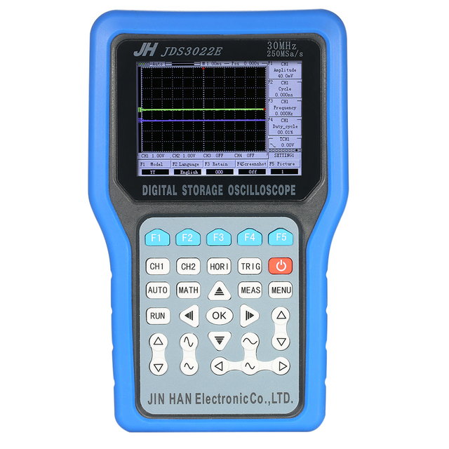 Best Price Multi-functional Handheld Digital Storage Oscilloscope 2 Channels Scope Meter 50MHz 500MSa/s with Signal Generator