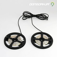 dc12 v led light strip smd Sensitive range 5 m led flexible tape led ribbon not waterproof lighting string Counter lamp tube