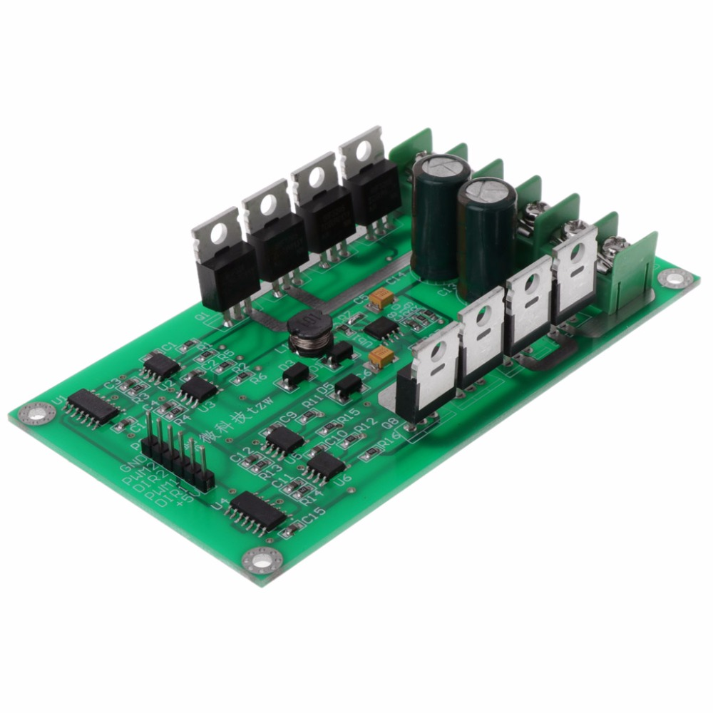 10A Peak 30A Dual Channel Motor Driver Board Module High Power H Bridge DC 3 36V in Motor Driver from Home Improvement