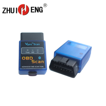 лучшая цена ELM 327 Bluetooth Android OBD2 Scanner Automotive OBD 2 Diagnostic Scan Tool for for car DVD player ELM327 OBDII diagnostic tool