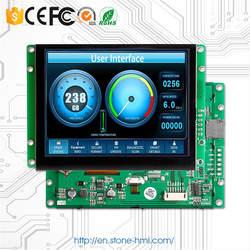 """4,3 """"низкое энергопотребление промышленный ЖК-панель с интерфейсом RS232"""