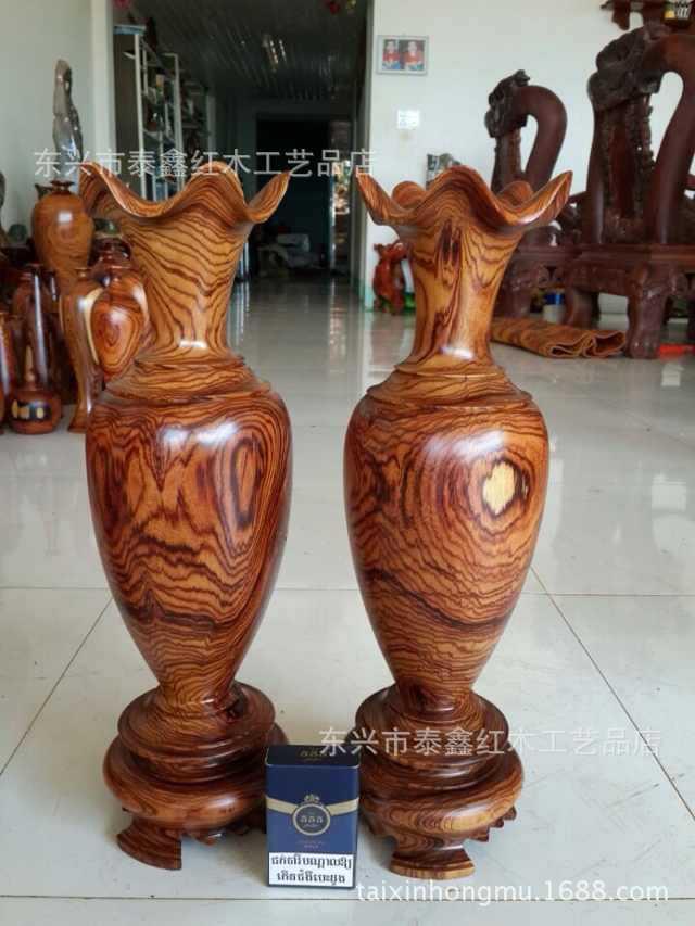 Оптовая продажа с фабрики Вьетнама белая деревянная ваза стиль полные спецификации и разнообразные покупки, пожалуйста, свяжитесь с - 2