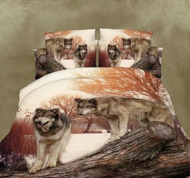 Popular Wolf Comforter Set Buy Cheap Wolf Comforter Set