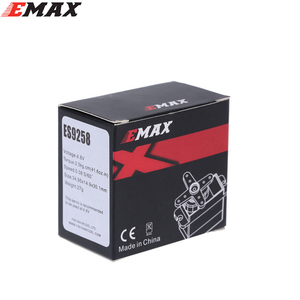 Image 4 - ES9258 סרוו, 4 יח\חבילה EMAX ES9258 הדיגיטלי סרוו עם ציוד מתכת 27g/ 3kg/ .05 שניות עבור rc מסוק