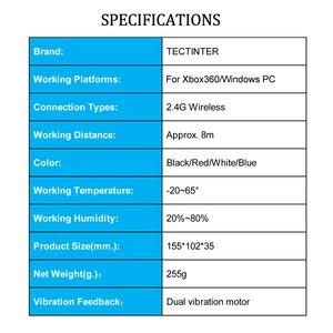 Image 5 - สำหรับXbox 360 2.4G Wireless Controllerคอมพิวเตอร์PCตัวรับสัญญาณไร้สายระยะไกลสำหรับMicrosoft Xbox360 จอยสติ๊กControle