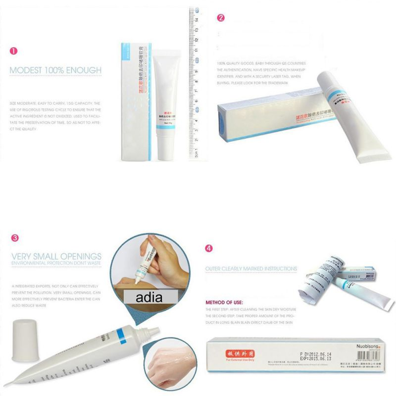 15ml Nuobisong Facial Scar Removal Cremas Facial Spots Treatment Whitening Face Cream Stretch Marks moisturizing 2