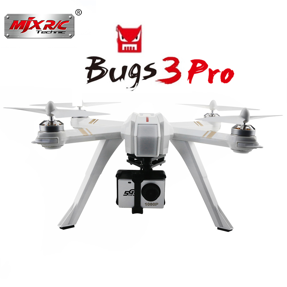 New MJX Bugs 3 Pro B3 PRO GPS RC Helicopter Professional RC Drone With WIFI 720P 1080P OR H9R Camera Quadcopter Toys Gifts Dron rctown mjx bugs 3 b3 rc quadcopter brushless motor 2 4g 6 axis gyro drone with h9r 4k camera professional dron helicopter d35