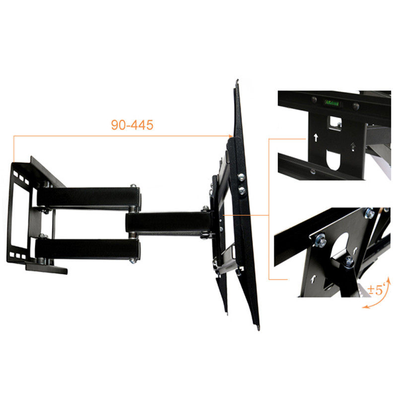 PLASMA LCD LED TV Wall Bracket Mount Tilt Swivel 23 37 40 42 46 48 50 52 60,only sold to United States профессиональный усилитель мощности crown dci 4 300