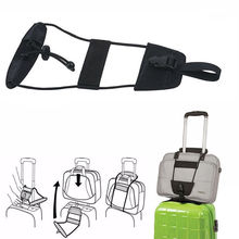 Strap Packing Adjustable Travel Suitcase Luggage Belts Nylon Carry On Bungee Belt Easy Accessories SN007 july song travel weighing scale password luggage strap adjustable and multifunctional suitcase belt sturdy travel accessories
