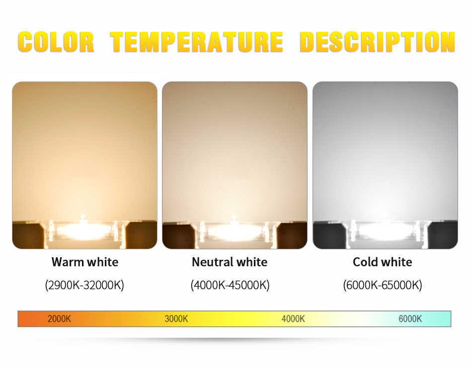 R7S LED مصباح COB أنبوب زجاجي 78 مللي متر 8W 118 مللي متر 13W استبدال مصباح هالوجين 80W J78 J118 Lamparda بقعة ضوء AC 220V 240V