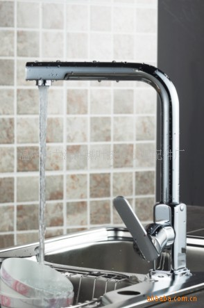 Manufacturers to supply high-quality hot and cold taps new upscale boutique full copper kitchen faucet [Special]