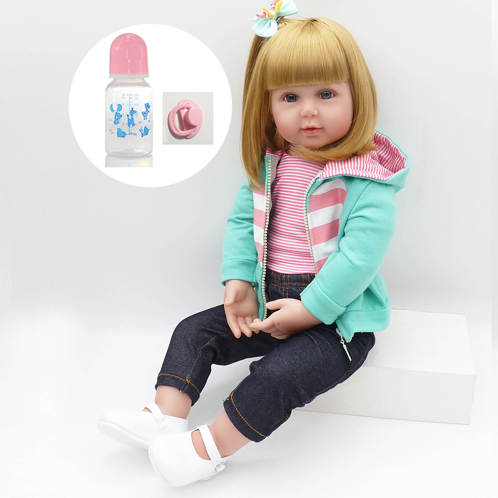 22 inch reborn babies bebe real reborn silicone reborn baby dolls for Sports girl toys gift 22 inch reborn babies bebe real reborn silicone reborn baby dolls for Sports girl toys gift