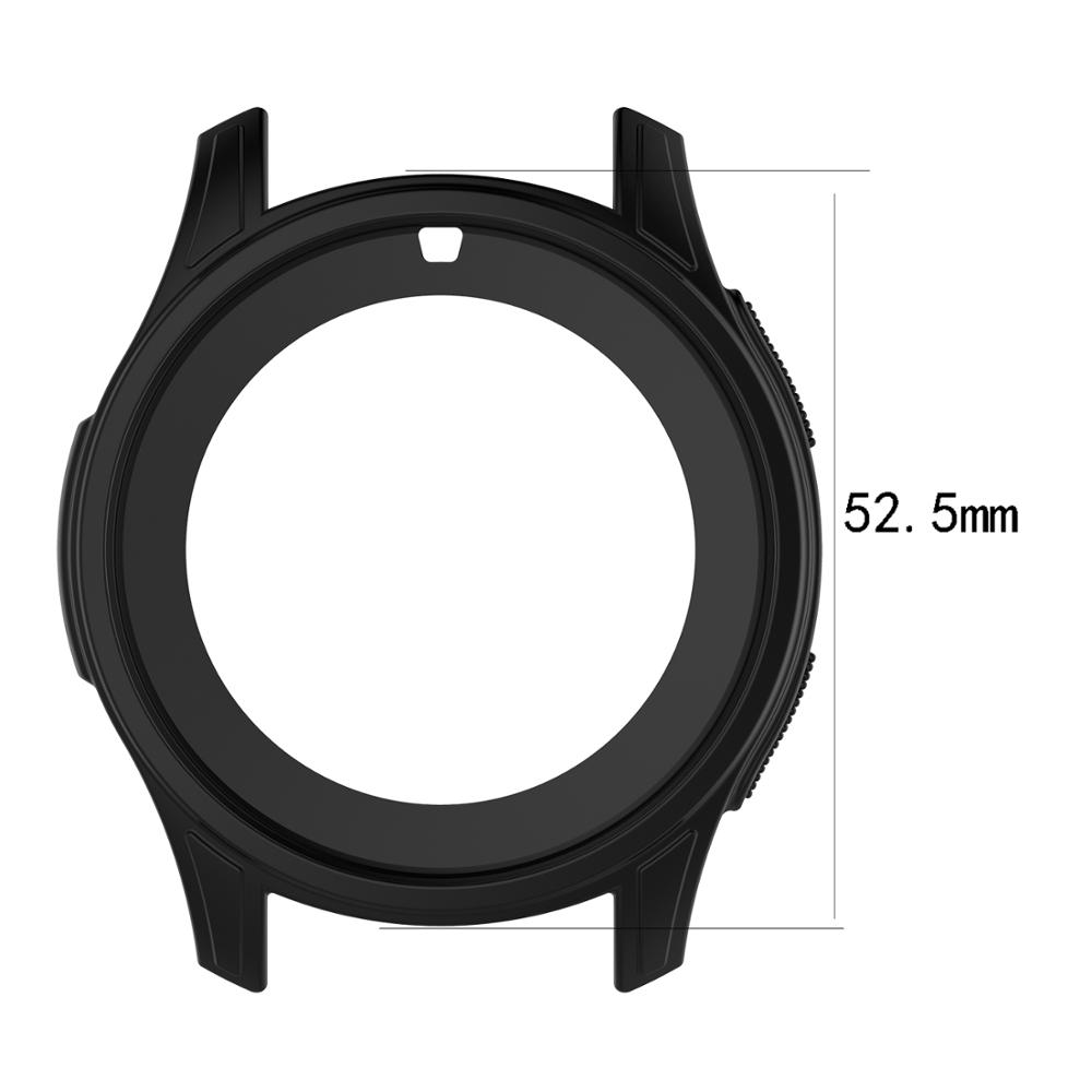 Image 3 - 5 Colors Silicone Protective Case For Samsung Gear S3 Frontier Cover Screen Protector Smartwatch Case For Galaxy Watch 46MM-in Smart Accessories from Consumer Electronics