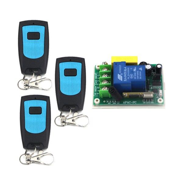 Power Switch AC220V 30A 1 Channel Wireless Remote Control