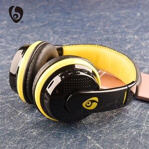 Image 3 - Sur loreille basse stéréo Bluetooth casque sans fil casque Support Micro SD carte Radio Microphone