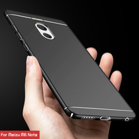 TCICPC Meizu M6 note case cover Luxury Hard PC Back Cover 360 Full Protection back cover case for Meizu M6 Note M 6 Note 5.5