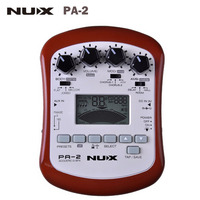 NUX PA 2 Portable Acoustic Guitar Multi Effects Pedal 18 Types Of Preset Guitar Effect Pedal
