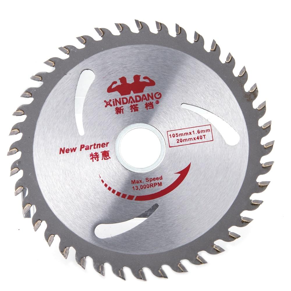 Hakkin 40 Teeth Circular Saw Blade Wheel Discs PVC Pipe Glass Fiber Board Wood Cutting Blade Woodworking Rotary Tool Cutting