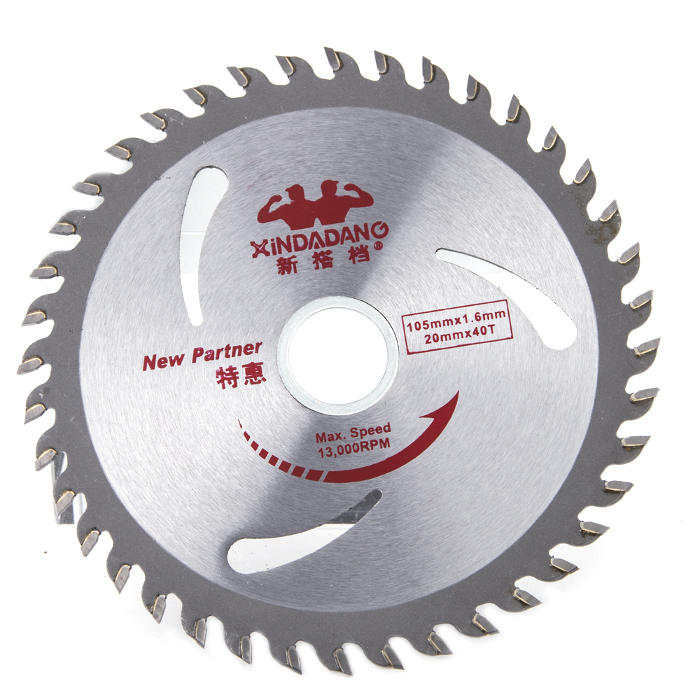 Hakkin 40 Teeth Circular Saw Blade Wheel Discs PVC Pipe Glass Fiber Board Wood Cutting B ...