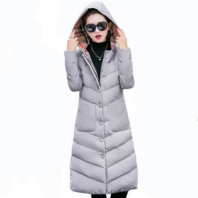 Fashion Snow Ladies Coats 2017 Winter Coat Women Parka Long Outerwear Thick Parka Women Winter Jacket XXXL
