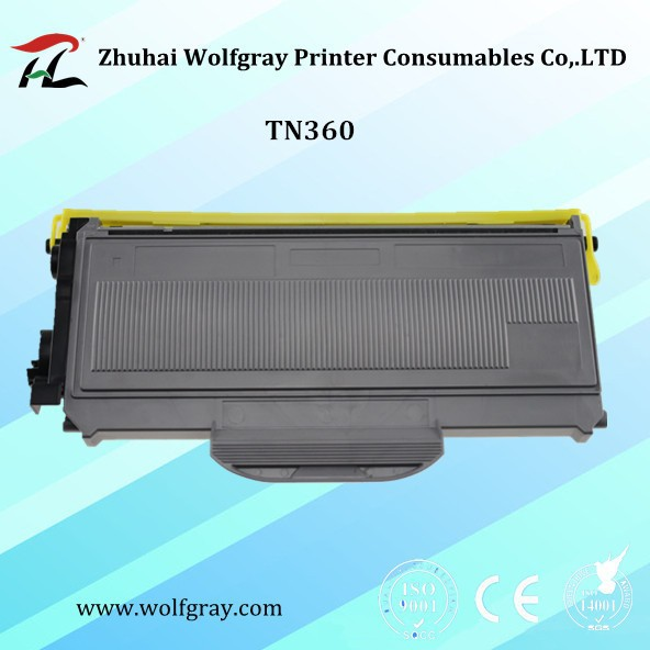 Compatible for Brother toner cartridge TN-360 TN360 TN2125 TN-2125 TN2120 TN-2120 TN-2150 TN2150 HL-2140/2142/2150N/2170W
