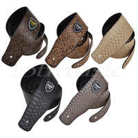 Kmise Different Padded Leather Guitar Strap Embossed For Electric Acoustic Guitar Bass Pack of 5