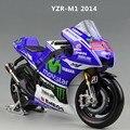 Maisto Yamaha YZR-M1 MotoGP 2013 2014 #99 #46 1:10 1: 18 Модели Мотоциклов Литья Под Давлением Игрушек Новый в коробка