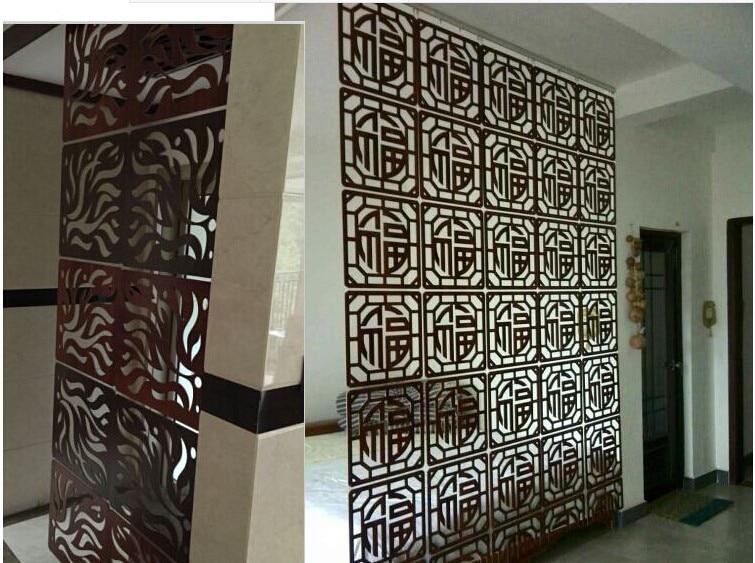 Customized Carved wood room divider Modern Hanging room divider ...