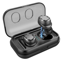 Wireless earbuds bluetooth 5.0 Handfree Earphones 3D Stereo Sound Headset Sports Earbuds Gaming with Charging box