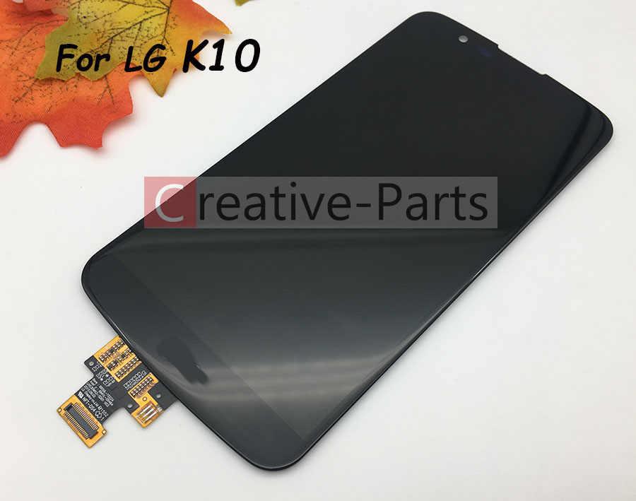 Оригинальный ЖК-дисплей для LG K10 K430 K410 Pantella с сенсорным экраном Стекло планшета Ассамблеи Экран дисплея Запчасти для авто